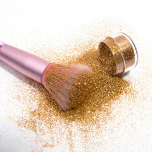 Glitter powder for makeup